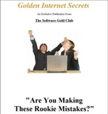 Golden Internet Secrets - Are You Making These Rookie Mistakes?
